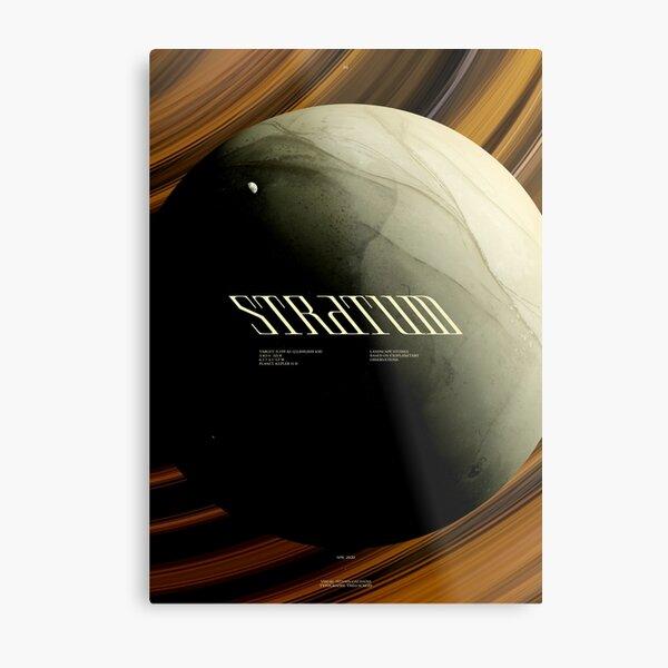 STRATUM - KEPLER 11 D - #1 Impression métallique
