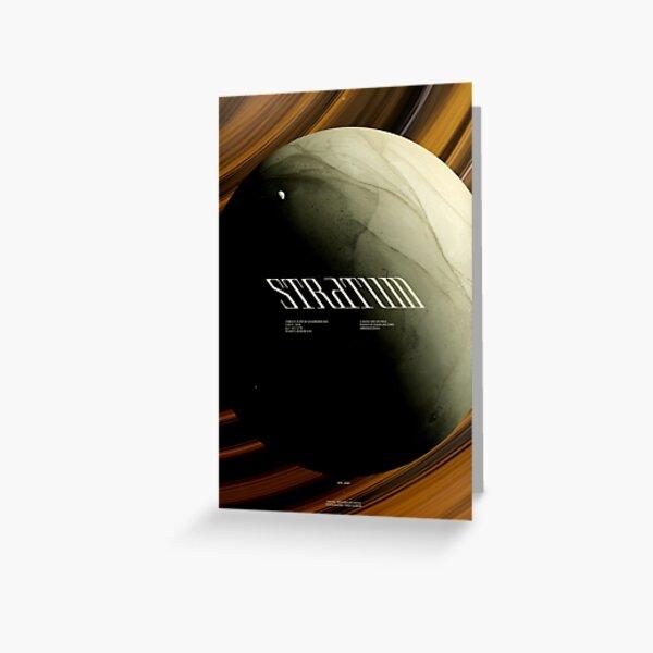 STRATUM - KEPLER 11 D - #1 Carte de vœux