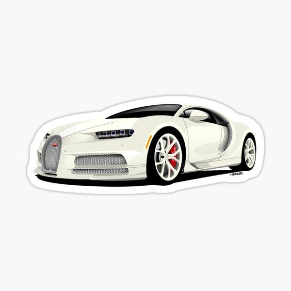 Bugatti Chiron HERMES Edition Sticker