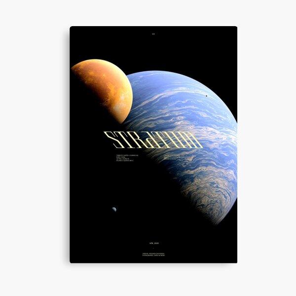 STRATUM - GLIESE 581 C - #3 Impression sur toile