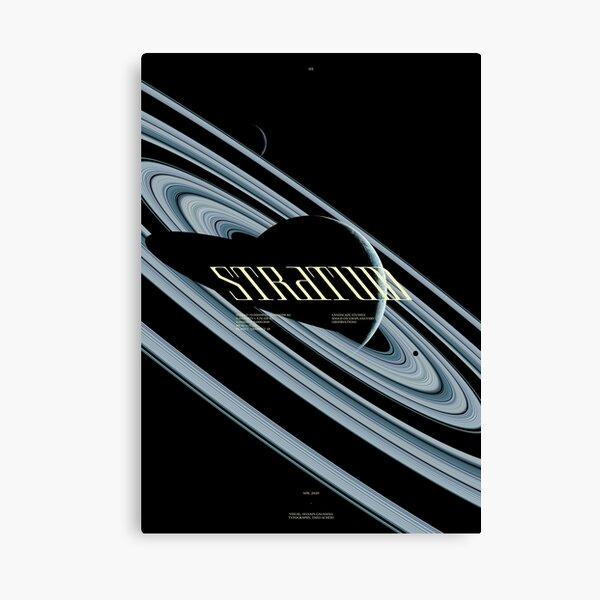 STRATUM - TRAPPIST 1B - #5 Impression sur toile