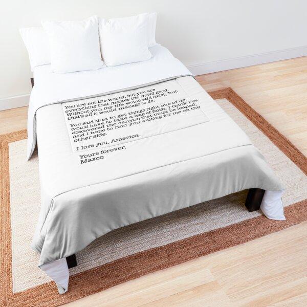 selection maxon quote Comforter