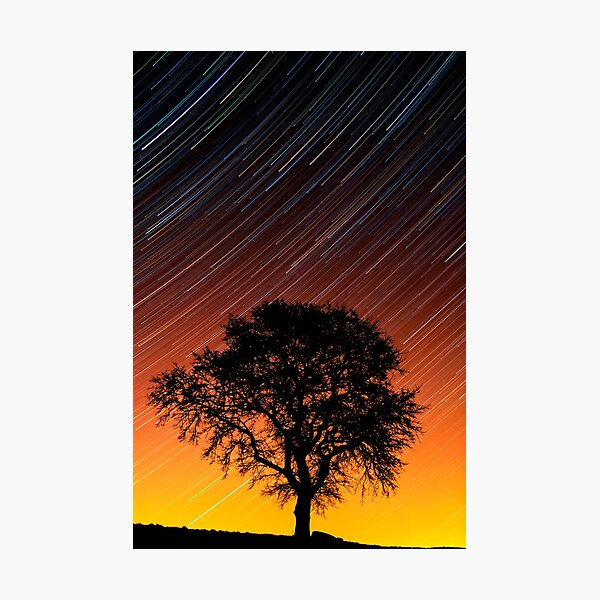 FIRESKY Photographic Print