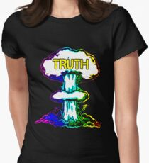 Truth Bombs T-shirt moulant