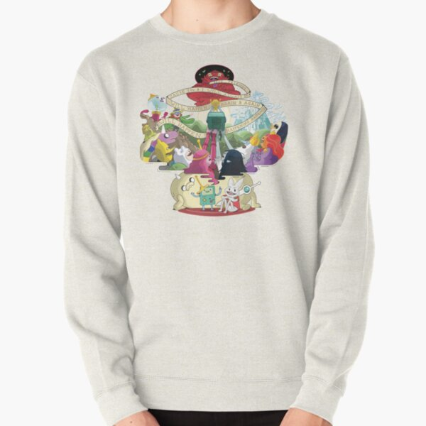Come along with me - Adventure Time Pullover Sweatshirt