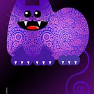 PAISLEY CAT  (card) by matt40s