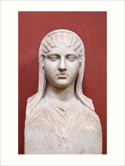 bust  by Anne Scantlebury