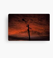 Sunset in the Shire Canvas Print