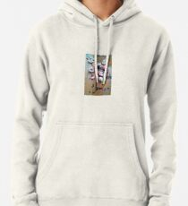 abstract rose petals Pullover Hoodie