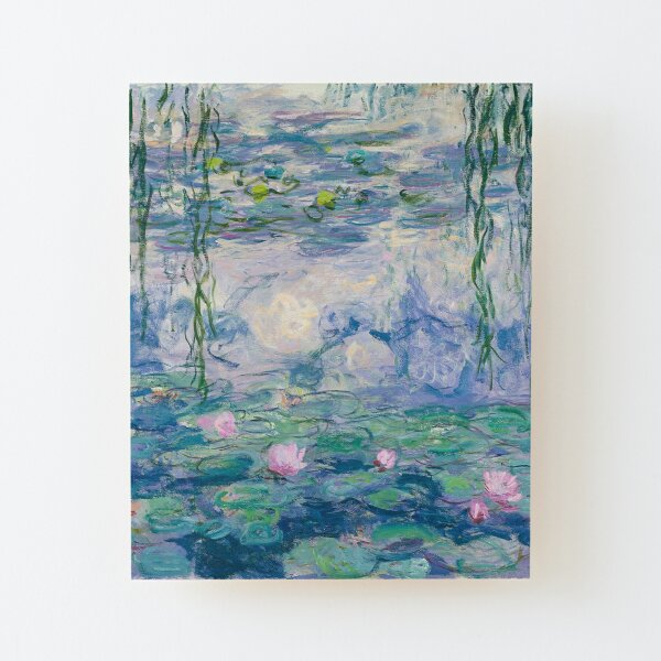 Water Lilies Claude Monet Fine Art Wood Mounted Print