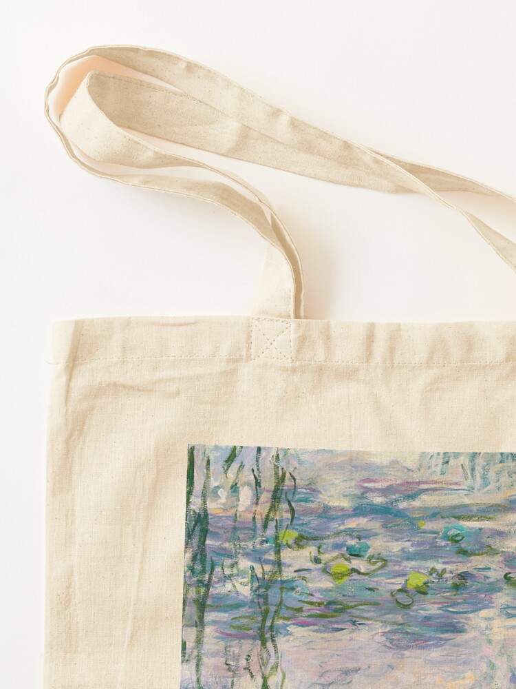 Alternate view of Water Lilies Claude Monet Fine Art Tote Bag