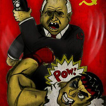 Khrushchev Vs Capcom  by PremierGrunt