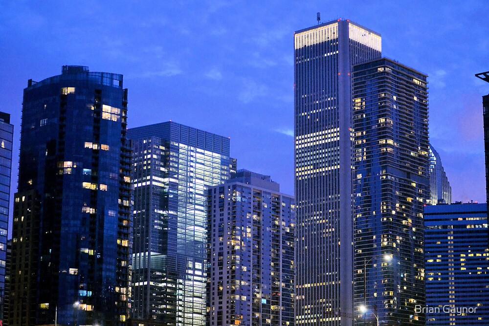 Blue Chicago by Brian Gaynor