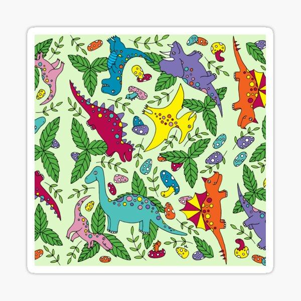 Dinosaurs || Cute || Kids || Jurassic  Sticker