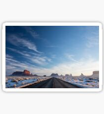 Monument Valley Drive Sticker
