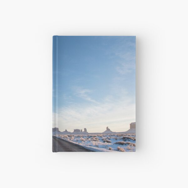 Monument Valley Drive Hardcover Journal