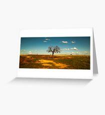 Sparse Tree - Parkes, NSW Greeting Card