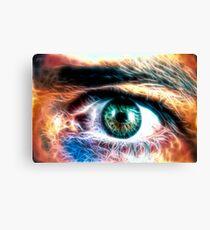 HDR Eye (fractal) Canvas Print