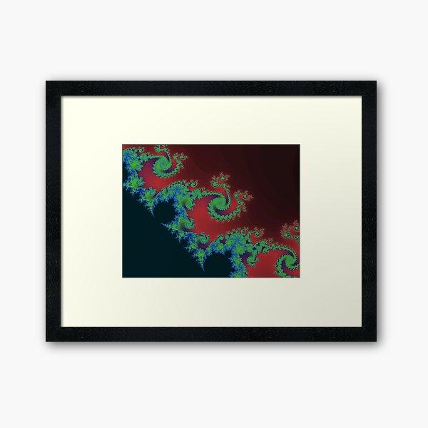 Fractal Art 17 designed and created by (c) Janet Watson Art Framed Art Print