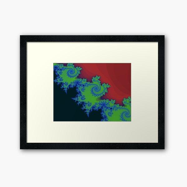 Fractal Art 18 designed and created by (c) Janet Watson Art Framed Art Print
