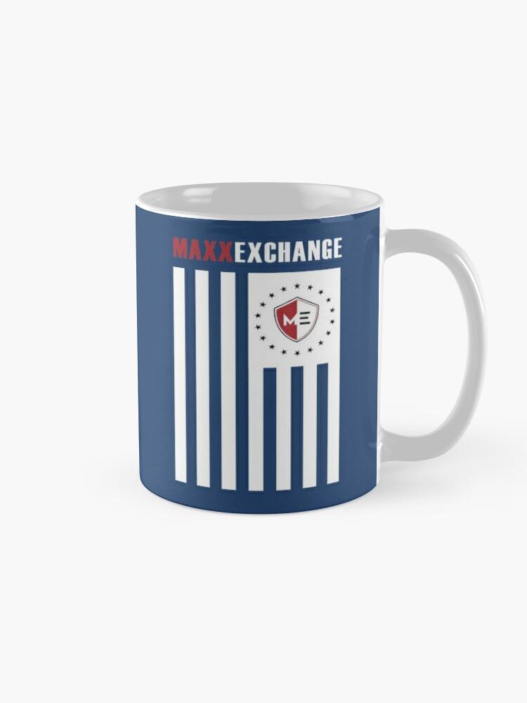 Alternate view of Maxx Exchange Ensign Stars Emblem Logo Insignia. Mug
