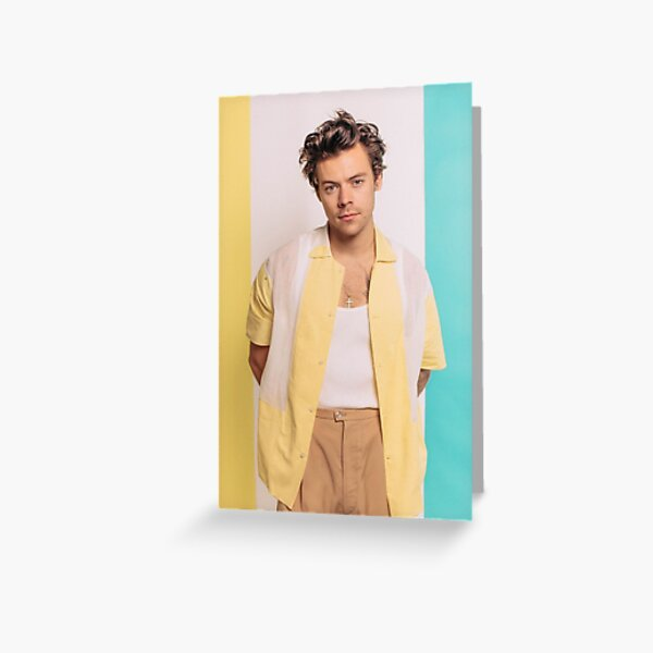 Pastel HarryStyle  Greeting Card