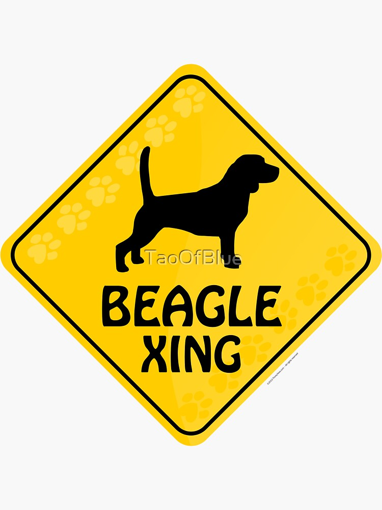 Beagle Xing by TaoOfBlue