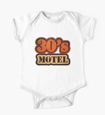 Vintage 30's Motel - T-Shirt One Piece - Short Sleeve