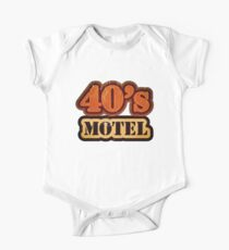 Vintage 40's Motel - T-Shirt One Piece - Short Sleeve