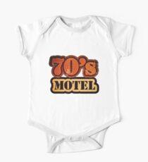 Vintage 70's Motel - T-Shirt One Piece - Short Sleeve