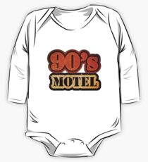 Vintage 90's Motel - T-Shirt One Piece - Long Sleeve