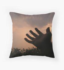 The Hand - Zaw Naw Throw Pillow
