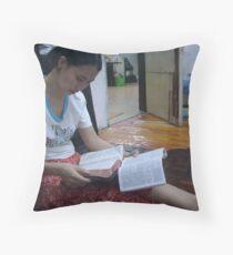 Reading - Alex Throw Pillow
