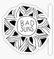 Bad Suns Doodle Sticker