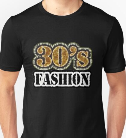 Vintage 30's Fashion - T-Shirt T-Shirt