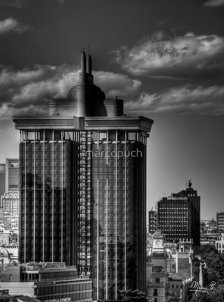 Torres de Colón - Madrid by marcopuch