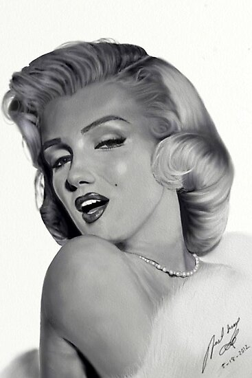 Marilyn Monroe by fairyl