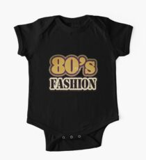 Vintage 80's Fashion - T-Shirt One Piece - Short Sleeve