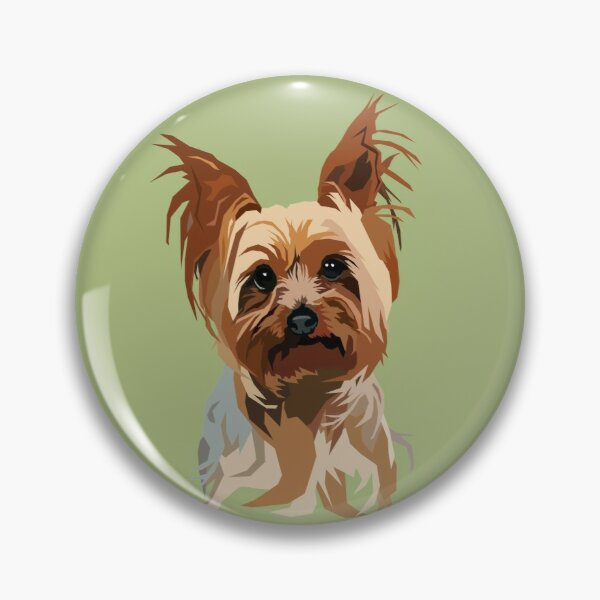 It's A Yorkie Pin