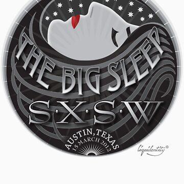 The Big Sleep SXSW - T shirt by liquidentity