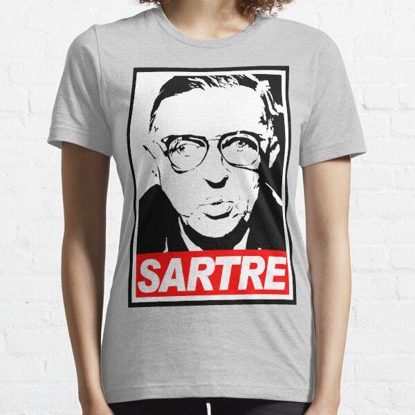 Jean-Paul Sartre Essential T-Shirt