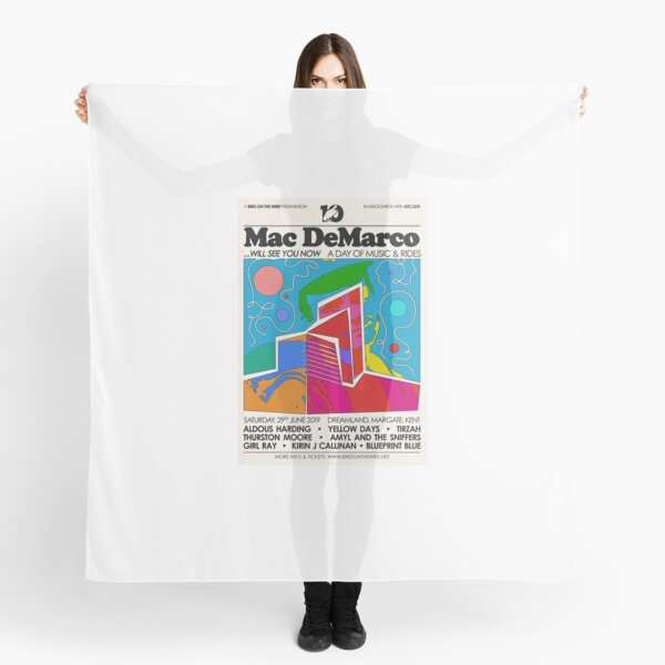 Mac DeMarco Art Scarf