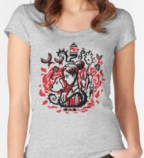 Princess of the Rose Women's Fitted Scoop T-Shirt