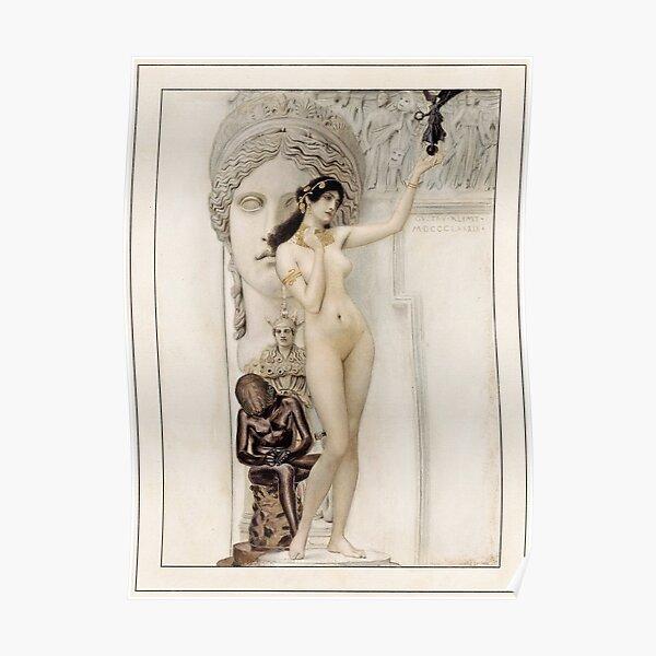 "Klimt's ""Allegory of Sculpture"" Poster"