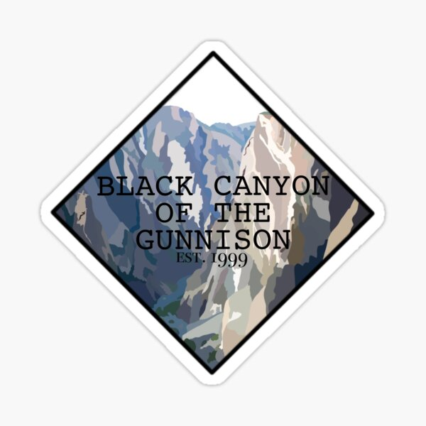 Black Canyon of the Gunnison National Park Sticker