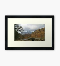 Ashness Bridge Borrowdale (Lake District National Park) Framed Print