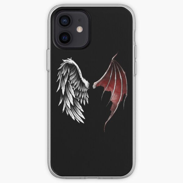 Lucifer wings iPhone Soft Case
