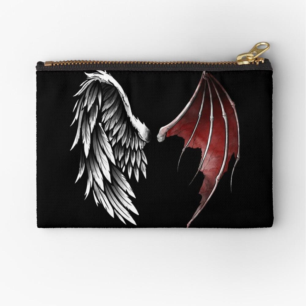Lucifer wings Zipper Pouch