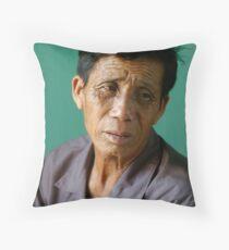 Vietnamese Fisherman Throw Pillow