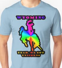 The Unicorns Of Wyoming Unisex T-Shirt